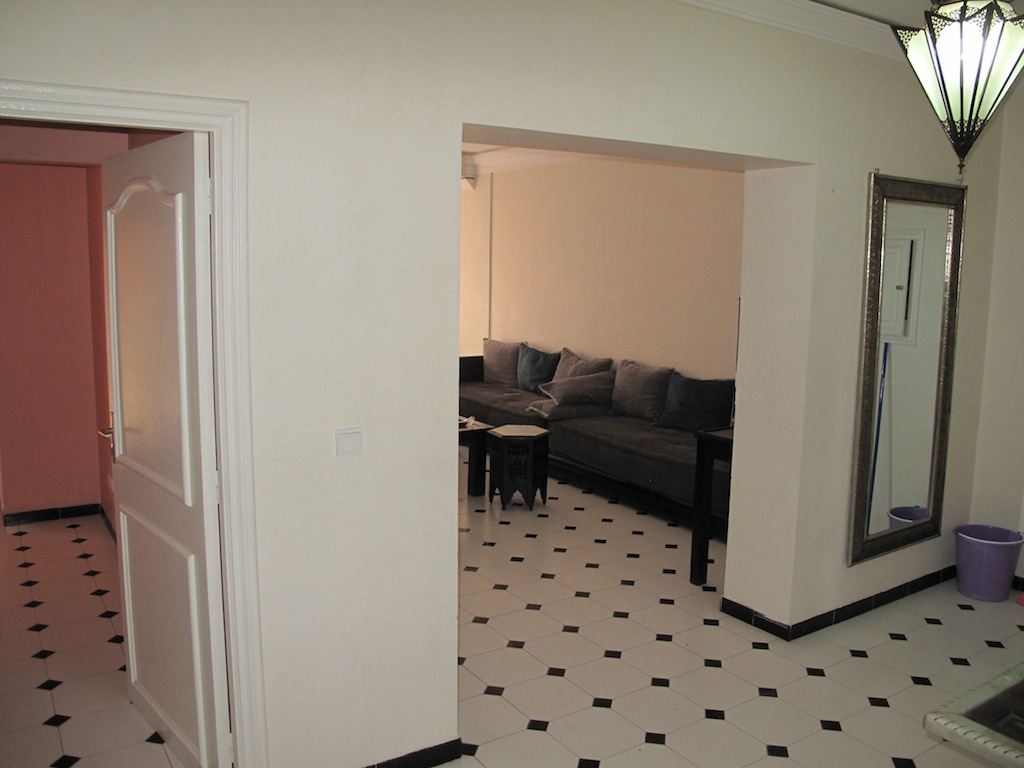 Appartement 3 chambres meubl gueliz agence immobili re for Location chambre meuble